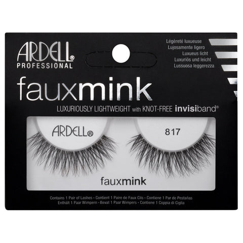 Ardell Faux Mink 817 Black False Eyelashes