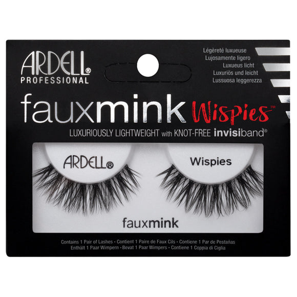 Ardell Faux Mink Wispies False Eyelashes