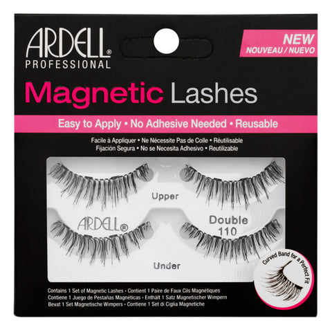 Ardell Magnetic Lashes Double 110 Black False Eyelashes