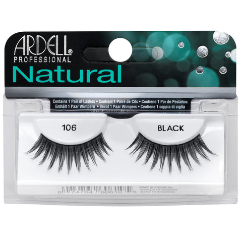 Ardell Natural 106 Black False Eyelashes