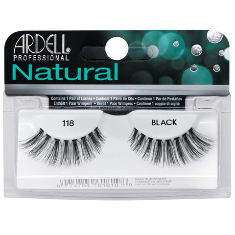 Ardell Natural 118 Black False Eyelashes