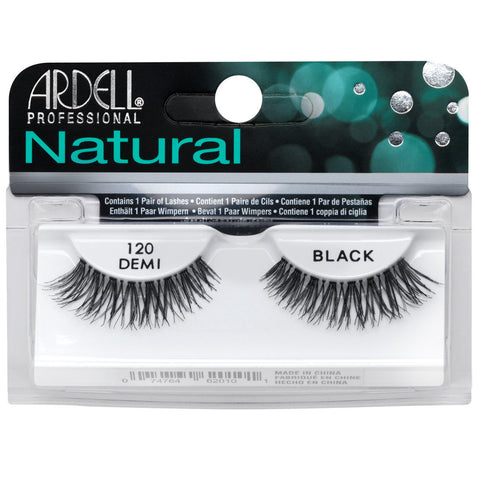 Ardell Natural 120 Demi Black False Eyelashes