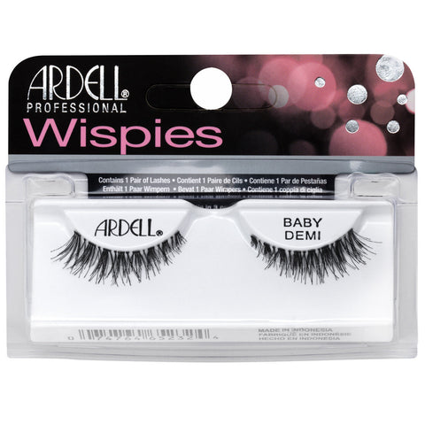 Ardell Wispies Baby Demi Black False Eyelashes