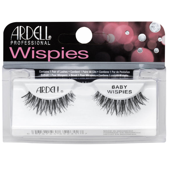 Ardell Wispies Baby Wispies Black False Eyelashes