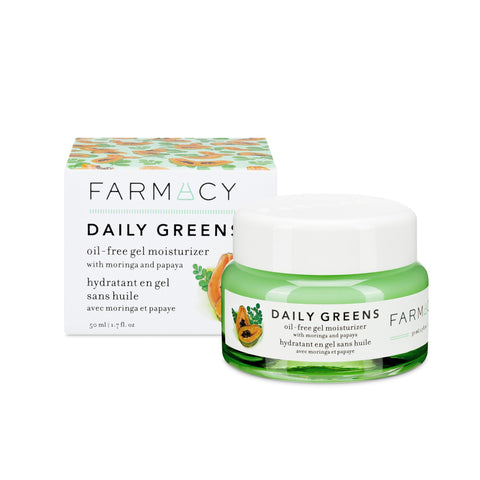 Farmacy Daily Greens Oil-Free Gel Moisturizer with Moringa and Papaya