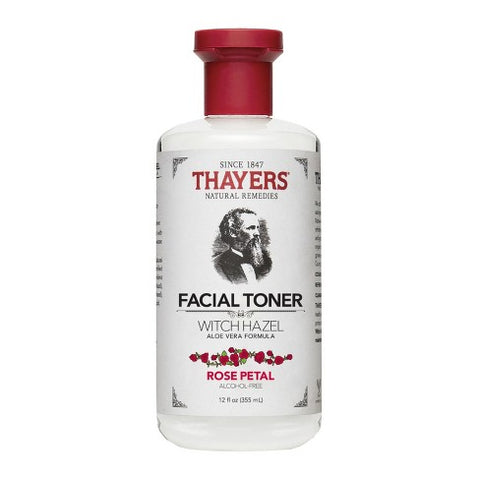 Thayers Alcohol Free Witch Hazel Toner in Rose Petal 355mL Full Size