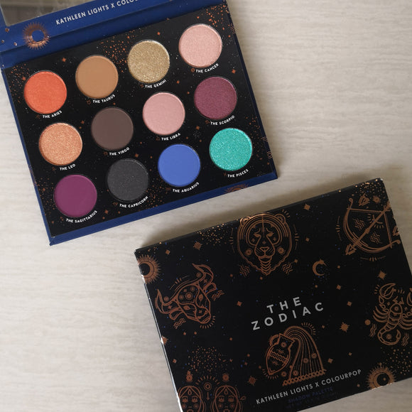 Colourpop x Kathleen Lights The Zodiac Eyeshadow Palette