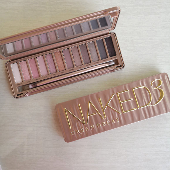 Urban Decay Naked 3 Eyeshadow Palette - with box