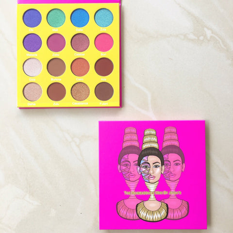 Juvia's Masquerade (Mini and Large) eyeshadow palette