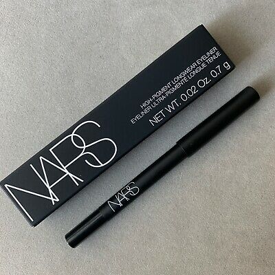NARS High Pigment Long Wear Eyeliner in Via Veneto (black)