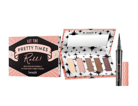 Benefit Let The Pretty Times Roll! Eyeshadow Palette and Eyeliner Set