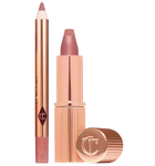 Charlotte Tilbruy Mini Pillow Talk Lipstick & Liner Set