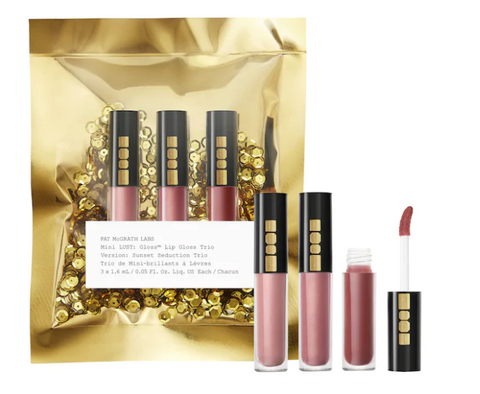 Pat McGrath Mini LUST: Lip Gloss™ Trio in Sunset Seduction