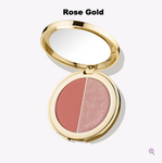 Tarte Double Duty Beauty Blush and Glow Blush & Highlighter Duo in Rose Gold