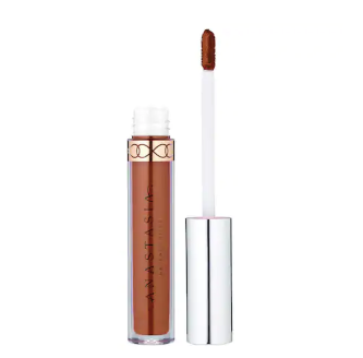Anastasia Beverly Hills Liquid Lipstick in Ashton (midtone yellow brown)