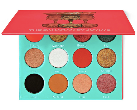 Juvia's the Saharan Eyeshadow Palette