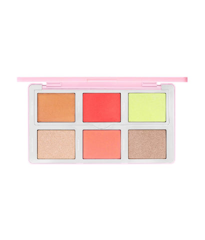 Natasha Denona Diamond and Blush Face Highlighting and Contour Palette in Citrus