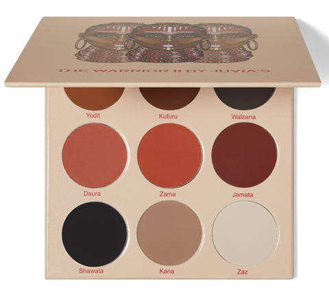 Juvia's Place Warrior 2 Eyeshadow Palette