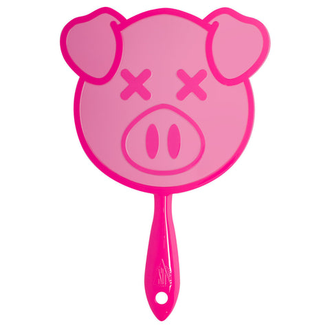 Jeffree Star x Shane Dawson Pig Hand Mirror in Pink