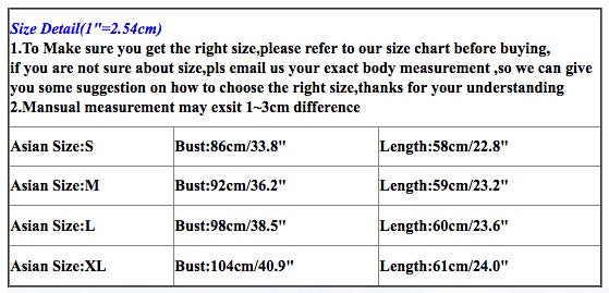 Clothing Size - Small Medium Large XL XXL