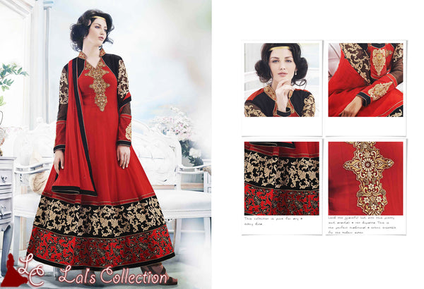 Elegant Anarkali Suit | Hand Work Embroidery