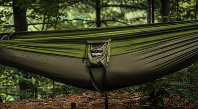 How to Hang a Hammock with Tree Straps