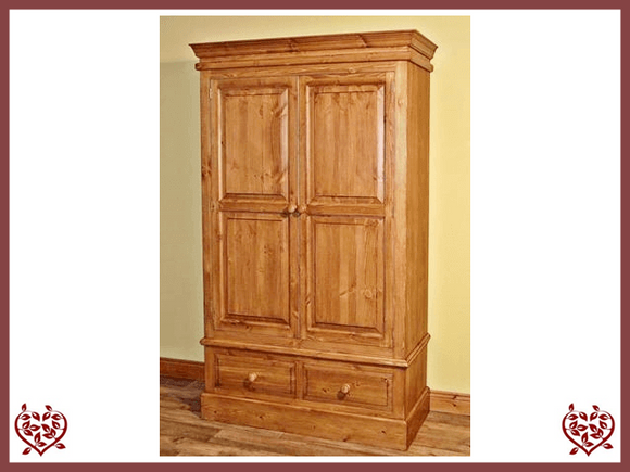 EDWARDIAN DOUBLE WARDROBE Paul Martyn Furniture UK