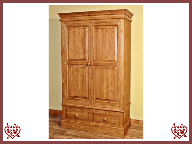 EDWARDIAN DOUBLE WARDROBE