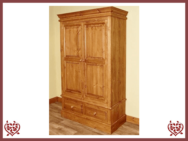 EDWARDIAN DOUBLE WARDROBE | Paul Martyn Furniture UK