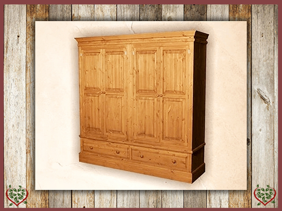 EDWARDIAN QUAD WARDROBE | Paul Martyn Furniture UK