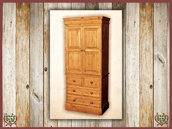 EDWARDIAN LINEN PRESS /WARDROBE | Paul Martyn Furniture UK