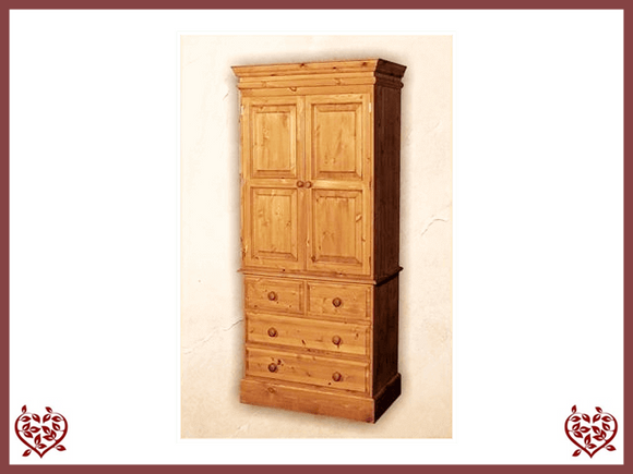 EDWARDIAN LINEN PRESS /WARDROBE Paul Martyn Furniture UK