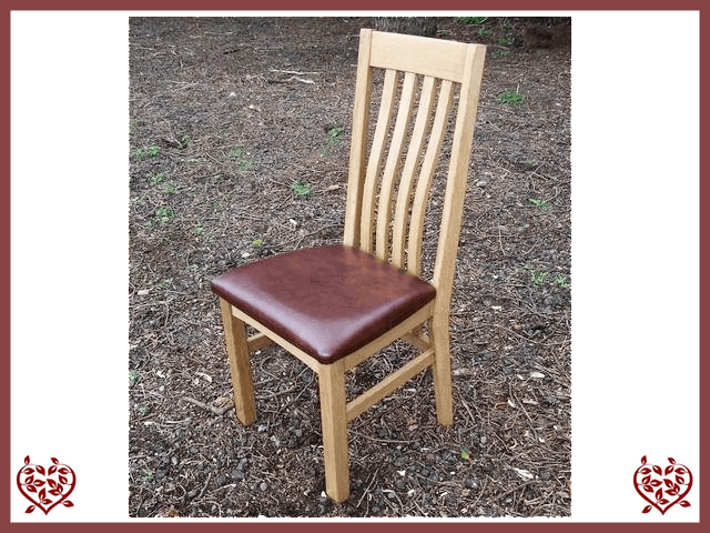 HARRINGTON OAK CHAIR