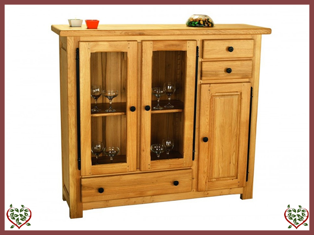 COUNTRY OAK HIGHBOARD - paul-martyn-furniture