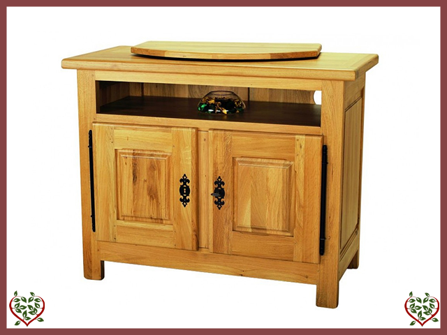 COUNTRY OAK TV ENTERTAINMENT CABINET