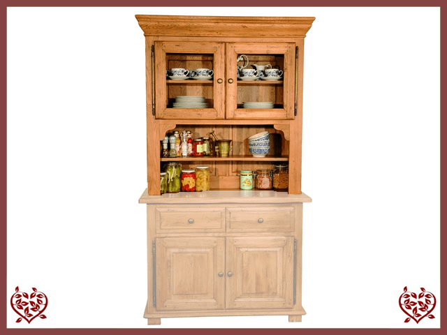 HERITAGE OAK CABINET TOP ONLY – 2 DOORS | Paul Martyn Furniture UK