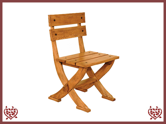 HERITAGE OAK DINING CHAIR