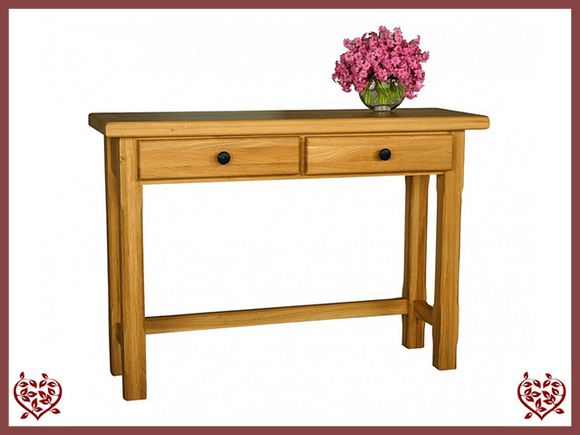 COUNTRY OAK HALL TABLE - paul-martyn-furniture