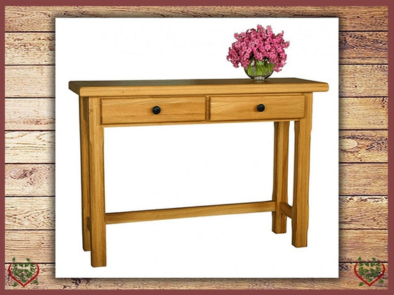 COUNTRY OAK HALL TABLE | Paul Martyn Furniture UK