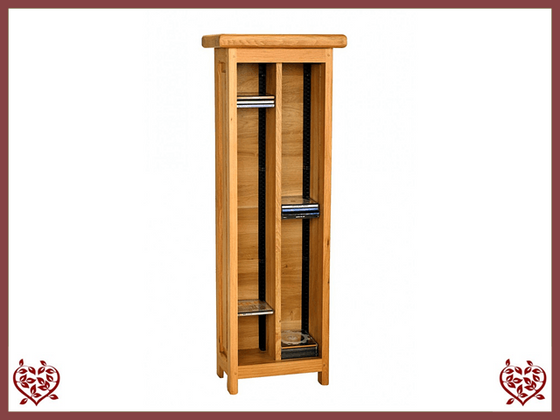 COUNTRY OAK CD TOWER - paul-martyn-furniture
