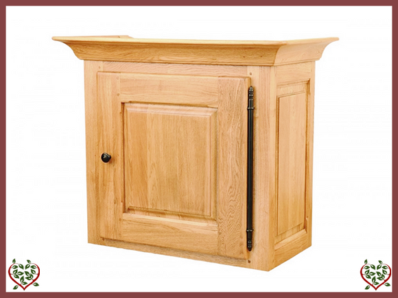 COUNTRY OAK CABINET TOP (SOLID DOOR)