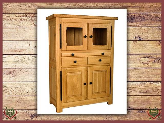COUNTRY OAK DRINKS CABINET | Paul Martyn Furniture UK