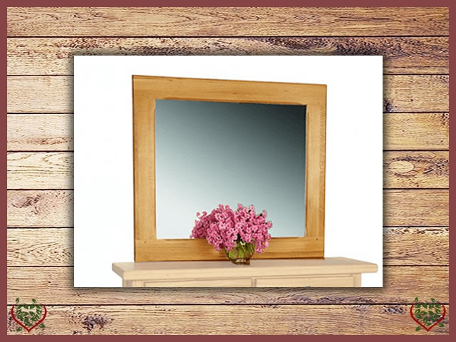 COUNTRY OAK MIRROR | Paul Martyn Furniture UK