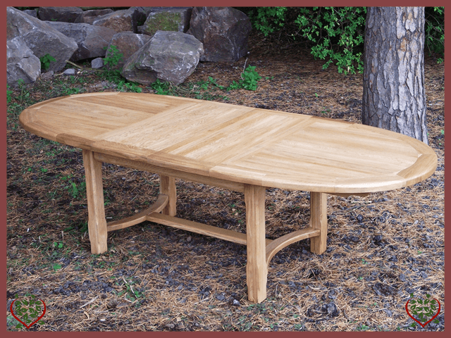 COUNTRY OAK OVAL EXTENDING TABLE - paul-martyn-furniture