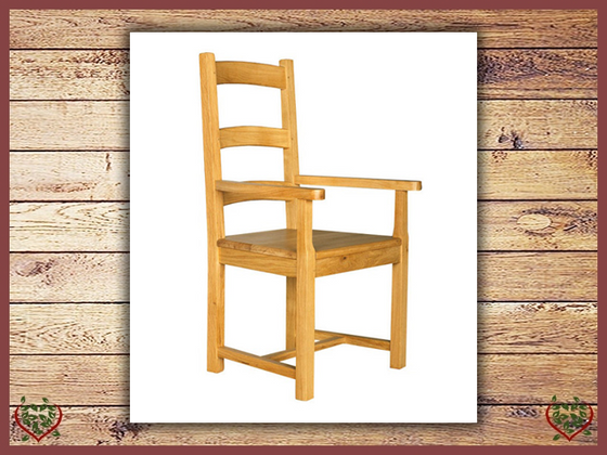 COUNTRY COLLECTION CARVER - WOOD SEAT | Paul Martyn Furniture UK