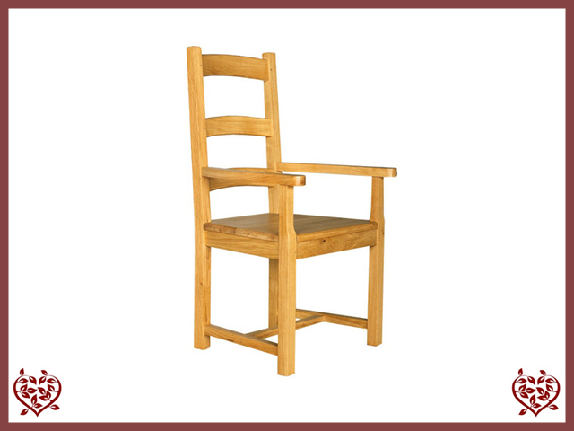 COUNTRY COLLECTION CARVER - WOOD SEAT
