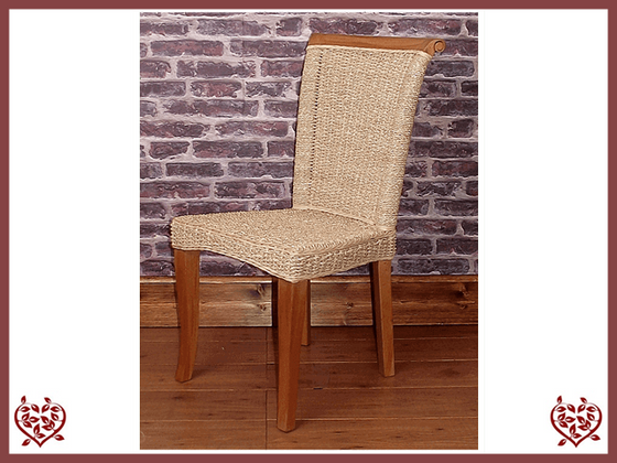 SEAGRASS DINING CHAIR Paul Martyn Furniture UK