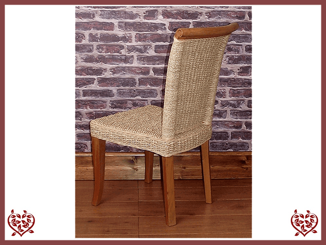 SEAGRASS DINING CHAIR | Paul Martyn Furniture UK