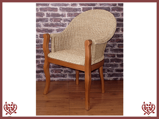 SEAGRASS CARVER CHAIR Paul Martyn Furniture UK