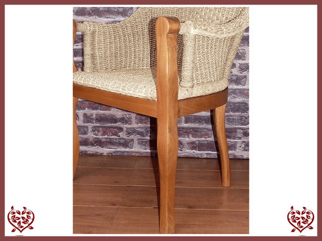 SEAGRASS CARVER CHAIR | Paul Martyn Furniture UK